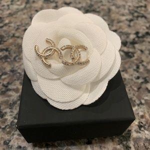 Chanel Classic CC Gold earrings